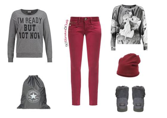 Outfit,scuola,media