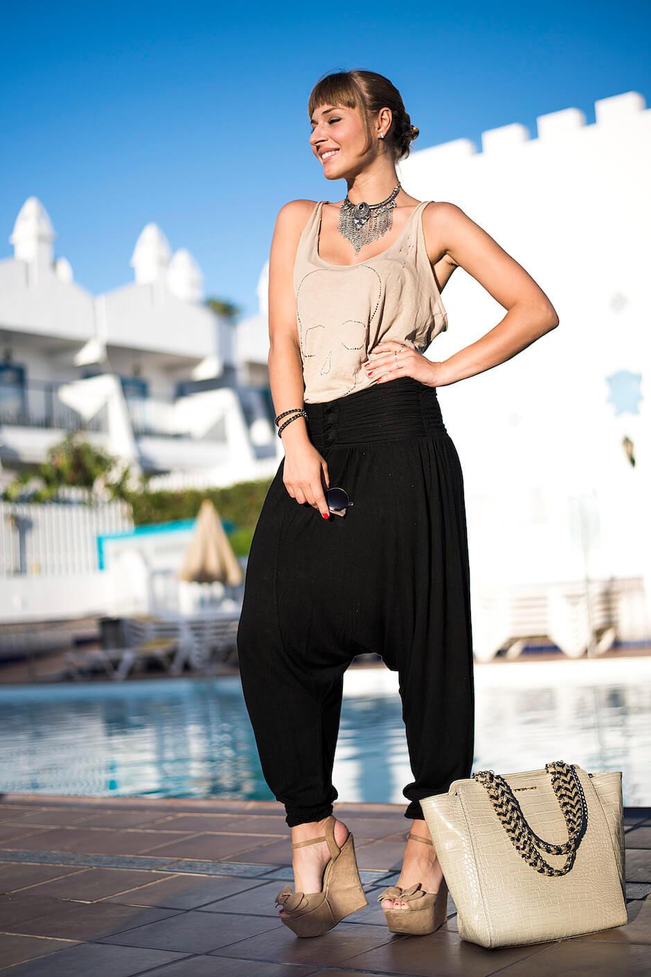 outfit pantaloni turca
