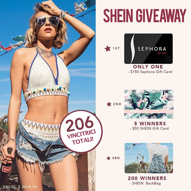 FESTIVAL OUTFIT GIVEAWAY SHEIN