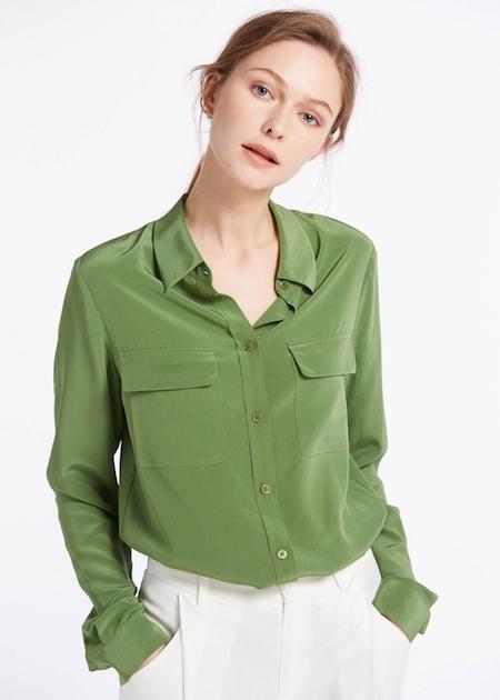camicie in seta