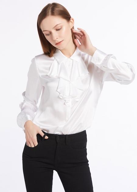 camicia seta qualità