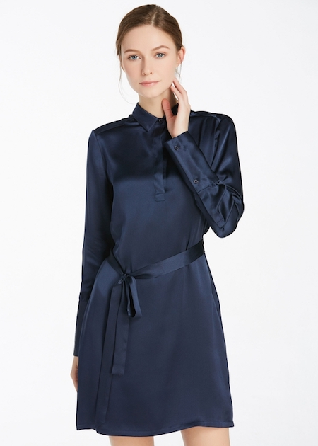 vestito in seta