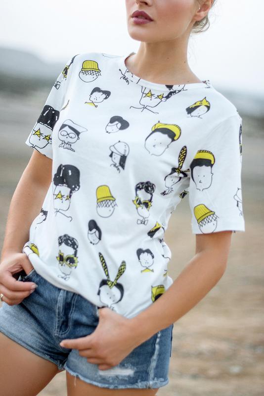 magliette strane