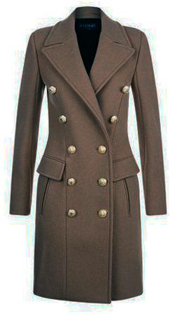 cappotto donna 2017 balmain