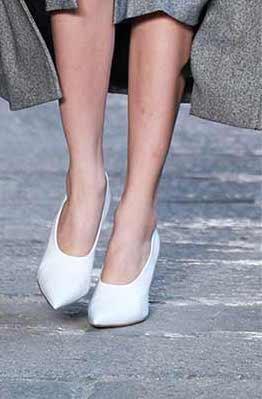 scarpe decollete bianche autunno inverno 2017 2018