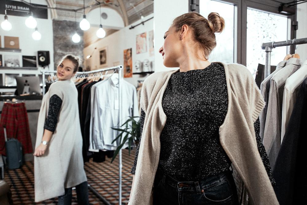 genova centro negozio uomo donna