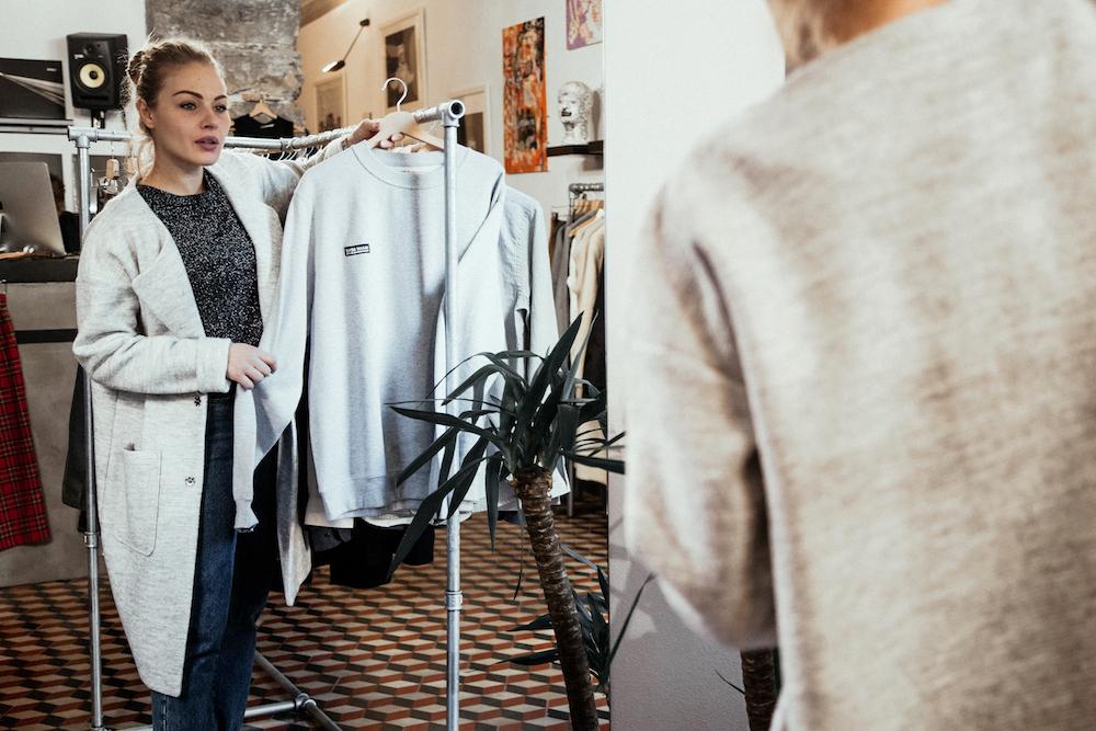 negozio abbigliamento concept store