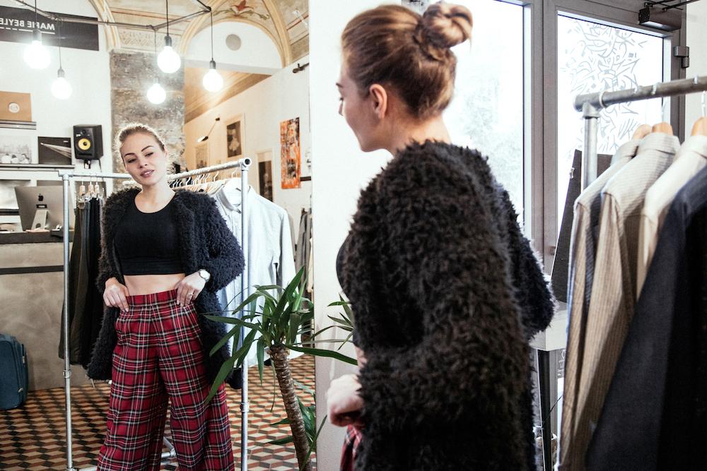 negozio abbigliamento uomo donna genova