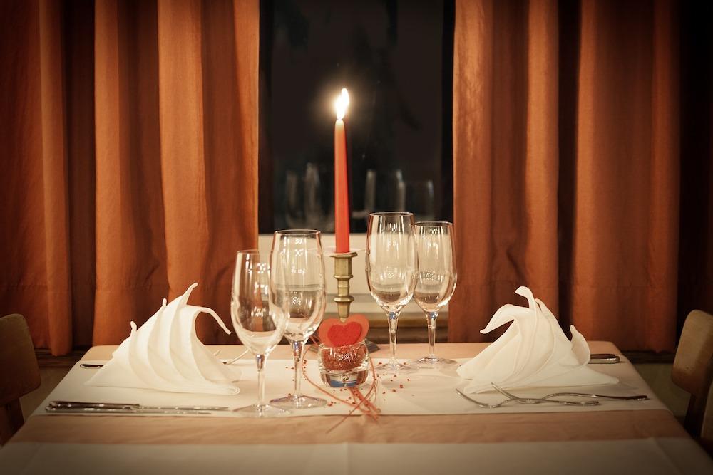 san valentino cena casa