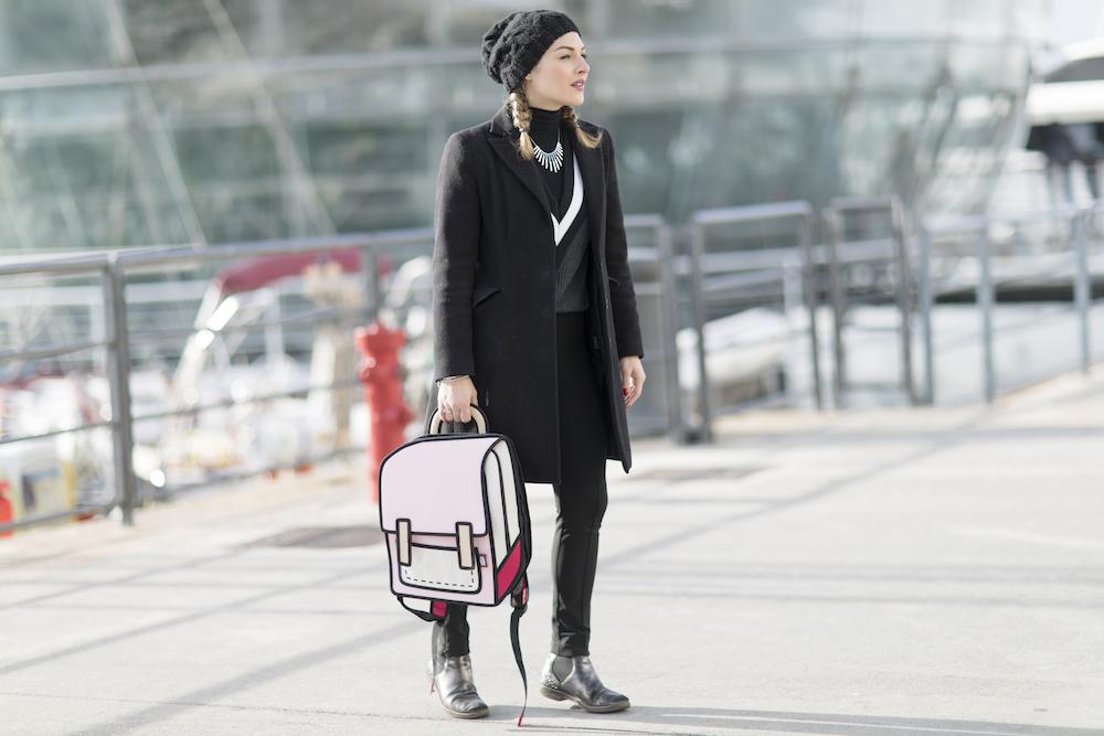 zaino donna moda
