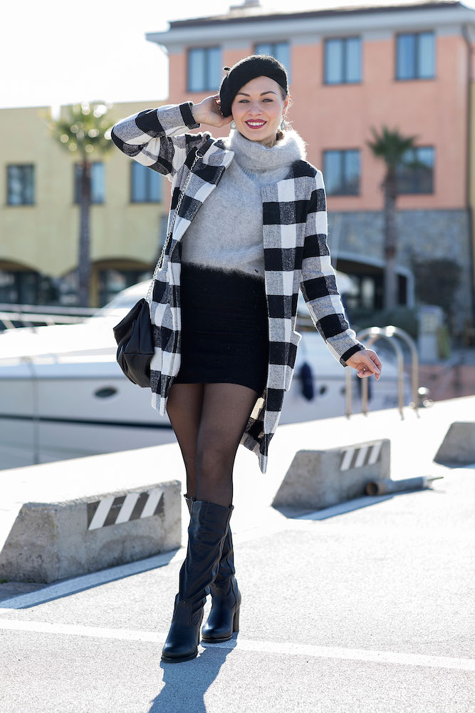 outfit invernale sensuale