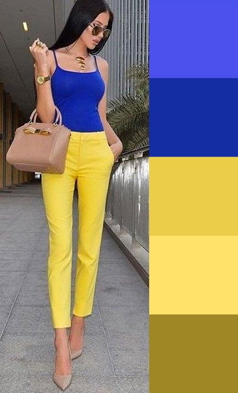 quality design 1f586 e658d I COLORI CHE STANNO BENE CON IL BLU: abbinare vestiti e ...