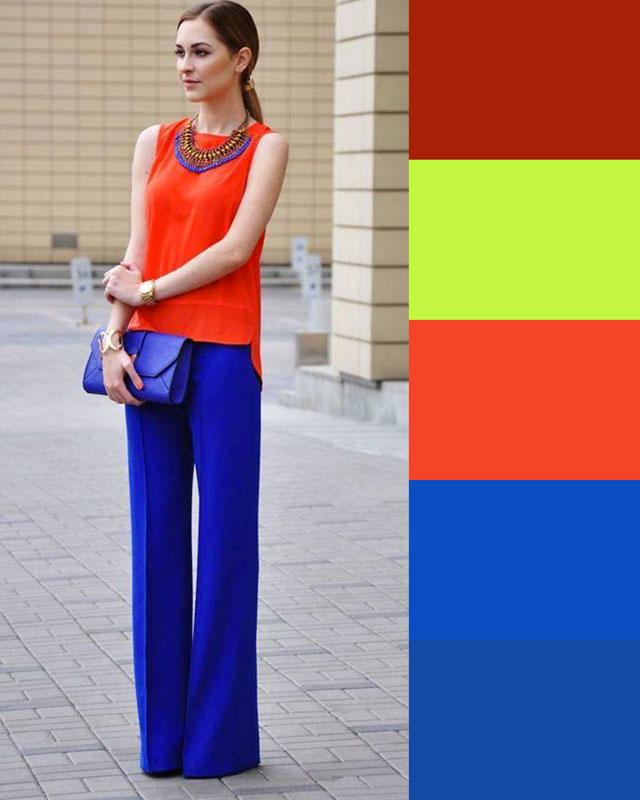 I Colori Che Stanno Bene Con Il Blu Abbinare Vestiti E Accessori