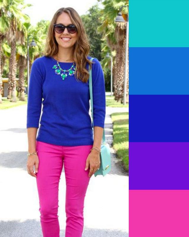 Come abbinare il colore fuxia | Beauty
