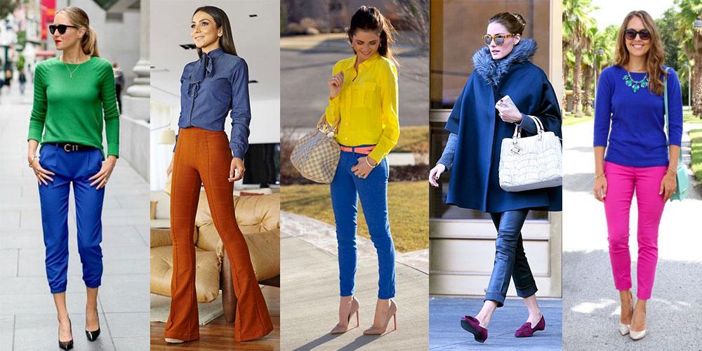 i colori che stanno bene con il blu abbinare vestiti e