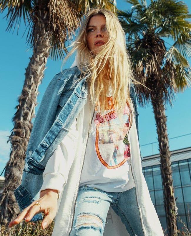 Tendenza jeans primaveraestate 2019: look total denim e non